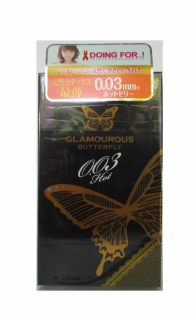 Bao Cao Su Jex Glamourous Butterfly 0.03 Hot