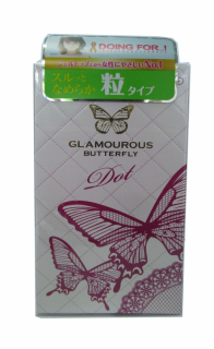 Bao Cao Su Jex Glamourous Butterfly Dot