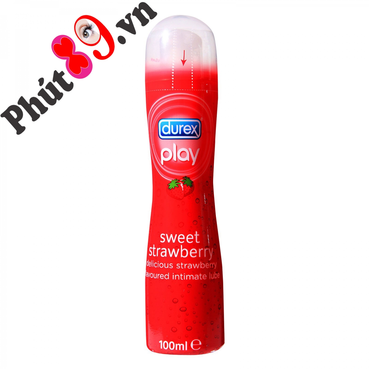 gel bôi trơn durex play sweet strawberry 100 ml